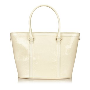 Dior Ivory Leather Others Tote