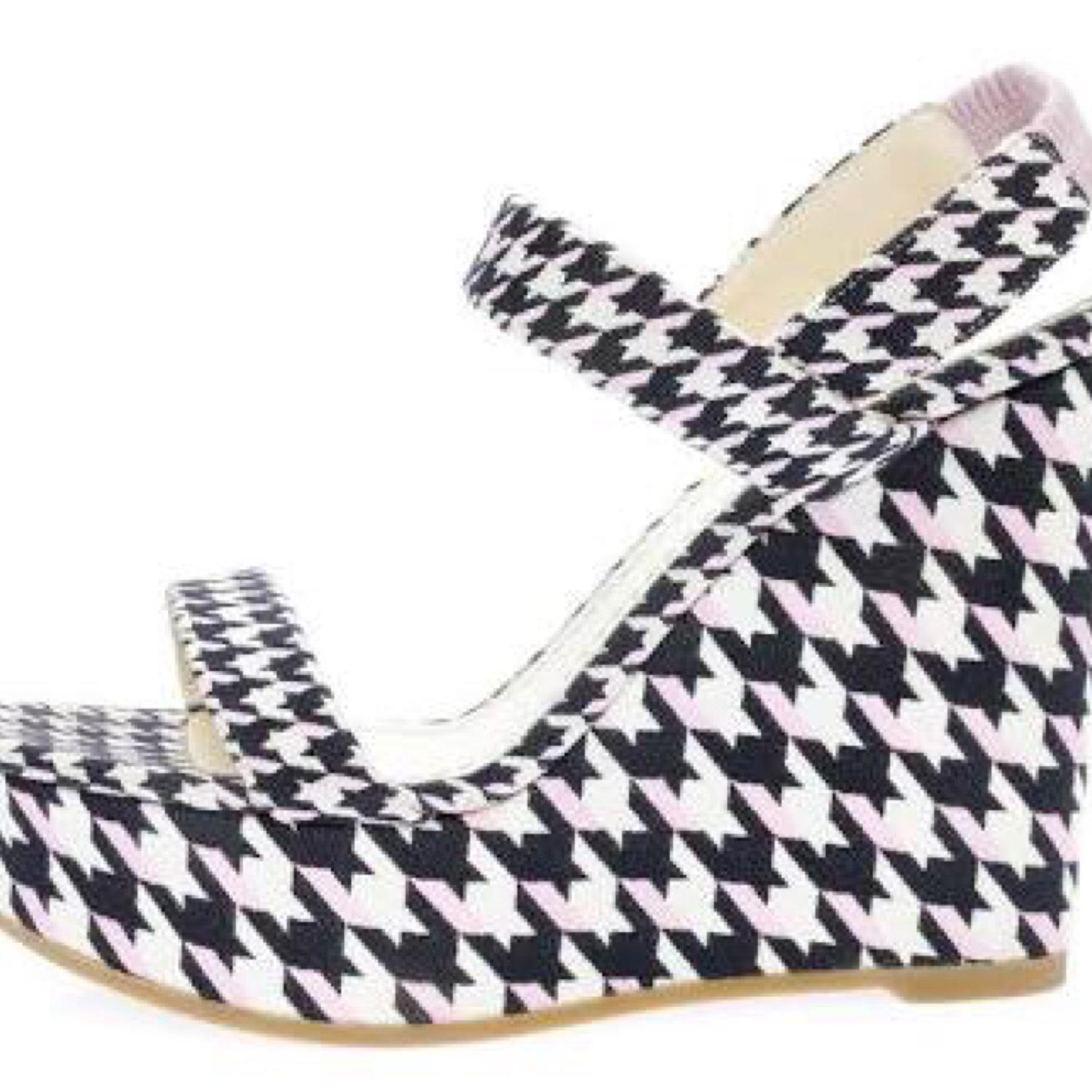 Christian Dior Printed Slingback Wedges original cheap online cheap sale affordable discount visa payment LwxkAXdp