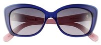 Dior New Christian Dior Promesse 3 Navy Blue Pink Sunglasses