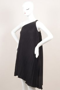 Dior Black Silk Pleated Dress