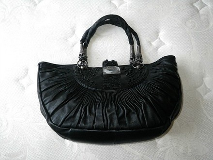Dior Leather High End Tote in Black