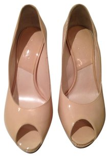 Dior Stiletto Designer Tan Pumps
