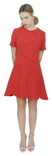 Dior short dress Red Christian Short on Tradesy