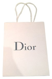 Dior Shopping Satchel in White