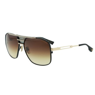 Dita Eyewear Men New Gold & Black Titanium Japan Aviator Sunglasses 62mm