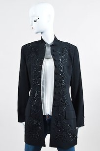 DKNY Vintage Wool Black Jacket