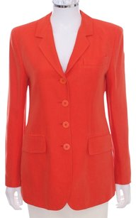 DKNY Orange New York Jacket Coral Blazer