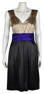 DKNY Womens Color Block Dress