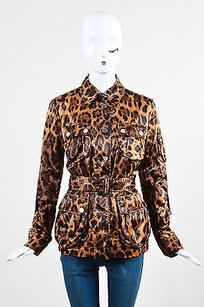 Dolce&Gabbana Dolce Gabbana Multicolor Brown Jacket