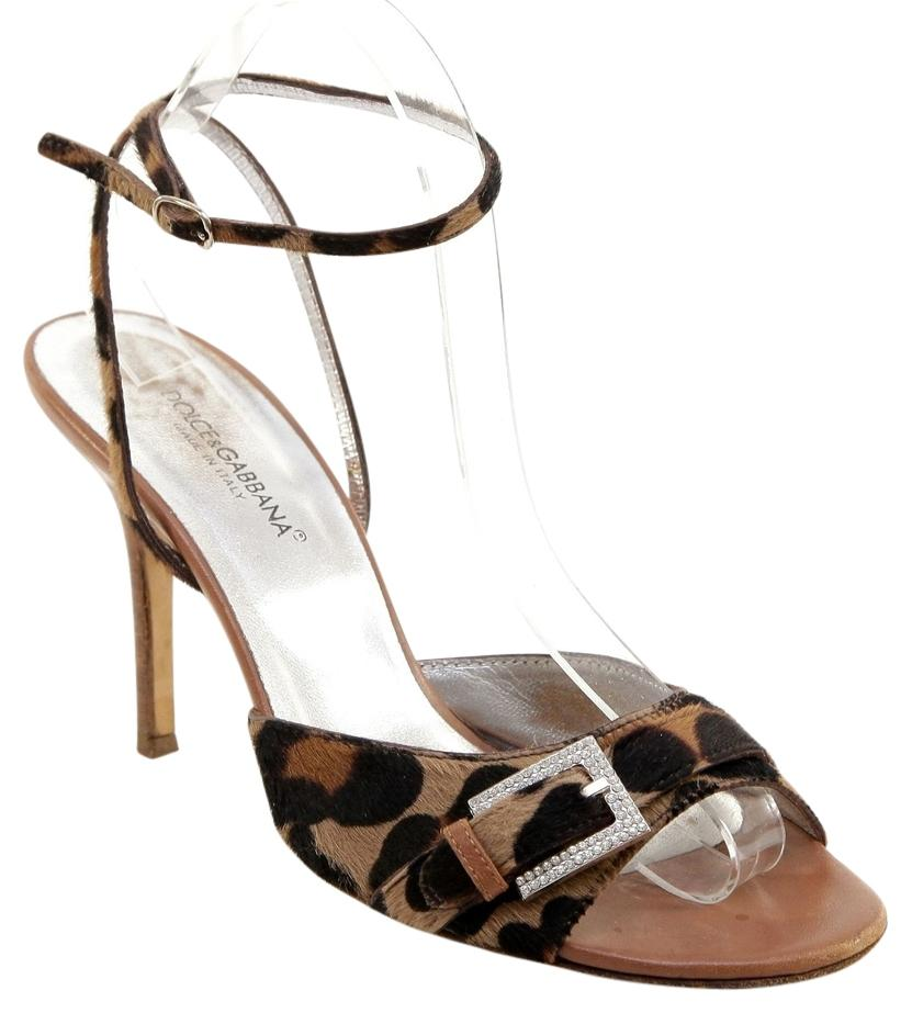 clearance from china clearance store cheap price Dolce & Gabbana Ponyhair Ankle Strap Sandals cheap price from china vZwKM