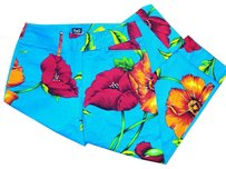 Dolce&Gabbana Detail Bright Floral Exclusive Capris Multicolor