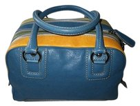 Dolce & Gabbana Louis Vuitton Channel Satchel in Blue, Gree, Yellow, Orange, Multi-Color