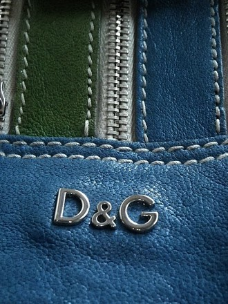 Dolce & Gabbana Louis Vuitton Channel Gucci Rare Vintage Satchel in Blue, Gree, Yellow, Orange, Multi-Color