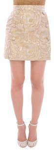 Dolce&Gabbana Dolce And Gabana Mini Skirt white beige