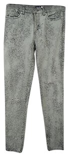Dolce&Gabbana Dg Grey Acid Washed Distressed Skinny With Rips 2042 Skinny Jeans