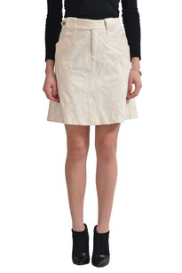 Dolce&Gabbana Straight Pencil Skirt Beige