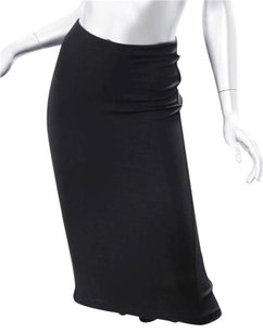 Dolce&Gabbana Dolce Gabbana Stretch Skirt Black