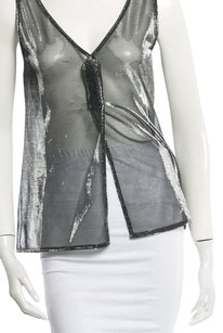 Dolce&Gabbana Top Silver and Black