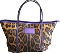 Dolce&Gabbana Tote in Brown Leopard/ Purple