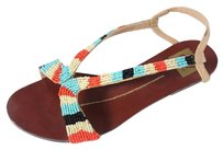 Dolce Vida Flat Multicolored Sandals