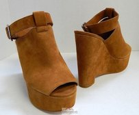 Dolce Vita Chestnut Brown Platforms