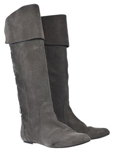 Dolce Vita Knee High Gray Boots