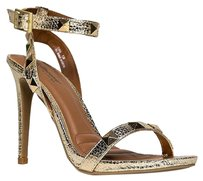 Dollhouse Gold Sandals