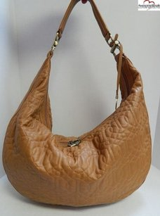 Donald J. Pliner Saddle Leather Hobo Bag