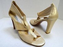 Donald J. Pliner Gold Beige Pumps