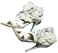 Donald J. Pliner White Platforms
