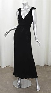 Maxi Dress by Donna Karan Womens Black