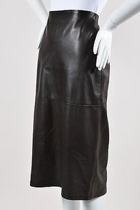 Donna Karan Signature Dark Skirt Brown