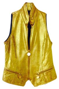 Donna Karan Vintage Leather Vest