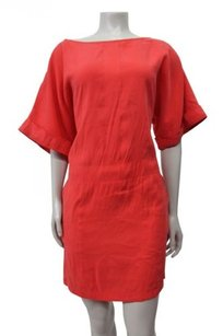 Donna Morgan short dress Orange Wide on Tradesy