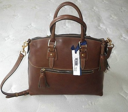Dooney & Bourke Coach Louis Vuitton Gucci Channel Rare Vintage Tote in Brown