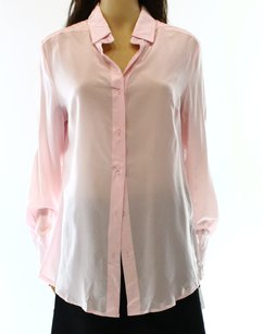 Dress Shirt Button Down Long Sleeve Top
