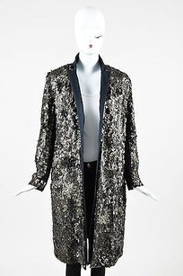 Dries van Noten Regine Black Gold Jacket