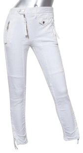 DSquared Womens White Cotton Skinny Jeans