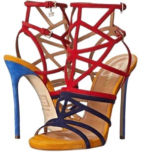 Dsquared2 Red,yellow,navy blue,baby blue Sandals