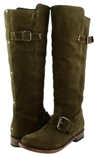 DV by Dolce Vita Lucianna Olive Green Boots