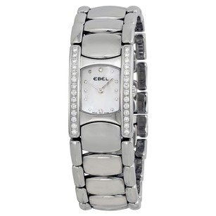 Ebel Beluga Manchette Pearl Dial Diamond Bezel Ladies Watch
