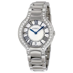 Ebel Beluga Silver Dial Stainless Steel Bracelet Ladies Watch