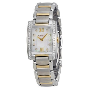 Ebel Brasilia Mother of Pearl Diamond Ladies Watch EB1215769
