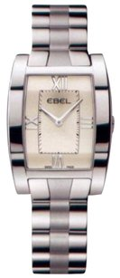 Ebel Tararwa Beige Dial Stainless Steel Ladies Quartz Watch