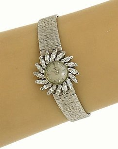 Ebel Vintage Ebel 18kt Gold 2.40ctw Diamond Swirl Bezel Ladies Watch