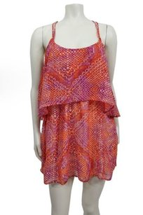 Ecote Double Layer Chiffon Festival Urban Outfitters Dress