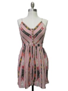 Ecote short dress Multi-Color Urban Outfitters Pink on Tradesy