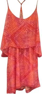 Ecote short dress Orange And Pink Aztec Tank Summer on Tradesy