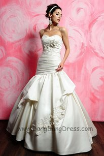 Eden White 2390 (Brand Newish) Wedding Dress Size 12 (L)