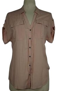 Edme & Esyllte And Womens Solid Short Sleeve 100 Rayon Tunic